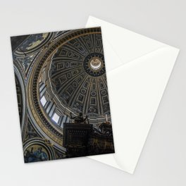 St. Peter's Basilica Dome Stationery Cards