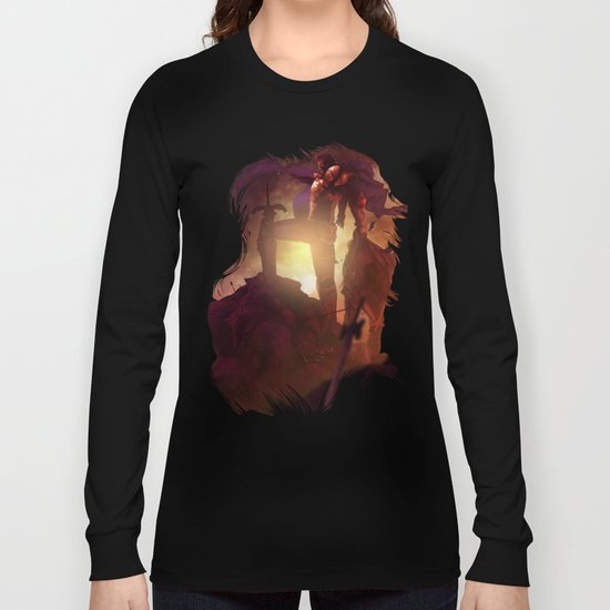Luca Blight the Beast of Suikoden II Long Sleeve T-shirt