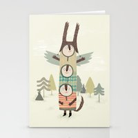 totem Stationery Cards featuring totem by kate hindley