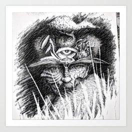 wiseman 2 Art Print