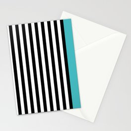 Liquorice allsorts, turqouise Stationery Cards
