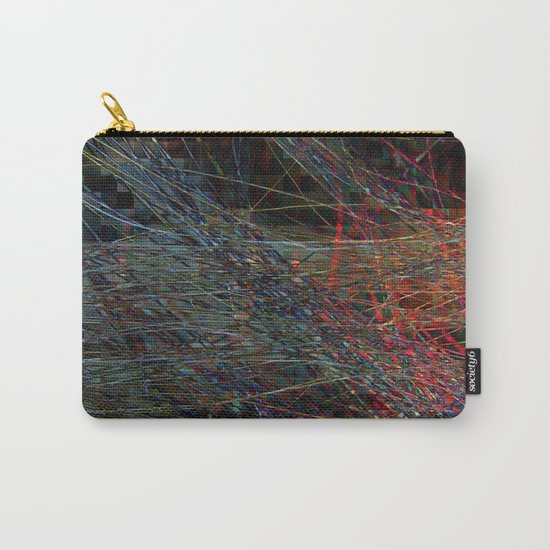 Abstract Hair Carry-All Pouch