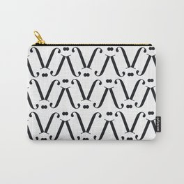 "Patterned - The Didot ""j"" Project Carry-All Pouch"