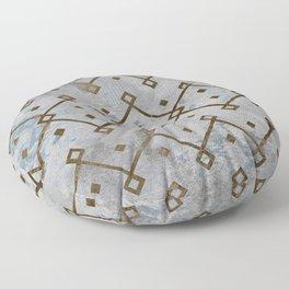 Southwestern Tribal Design Pattern Floor Pillow