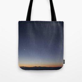 Moon, Venus, Mars, Jupiter Tote Bag