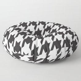Houndstooth Retro #77 Floor Pillow