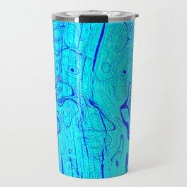 Abstract Oil on Water Travel Mug