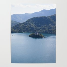 Lake Bliss Poster