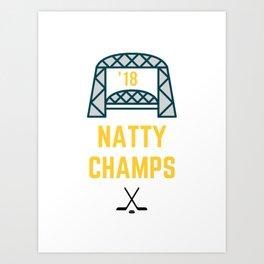 UMD Bulldogs Natty Champs Art Print