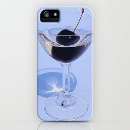 Keep calm and cherry on iPhone Case