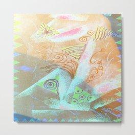 Abstract Colorful Joy Metal Print