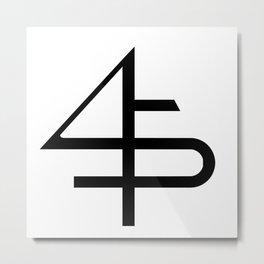 ___45____ Metal Print