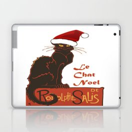 Le Chat Noel Christmas Vector Laptop & iPad Skin