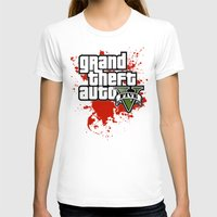 grand theft auto T-shirts featuring grand theft auto 5 by Dan Solo Galleries