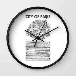 City of Paris Wall Clock