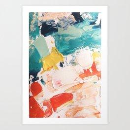 paint snack. Art Print