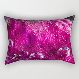 Pink Petal Rectangular Pillow