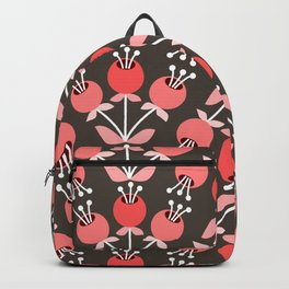 Daily pattern: Retro Flower No.8 Backpack