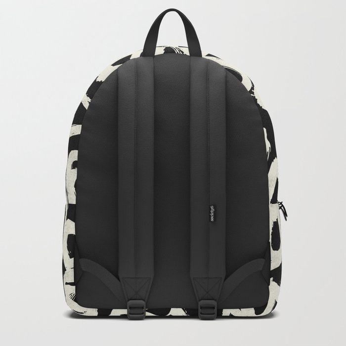 Tribal Triangle Dots Backpack