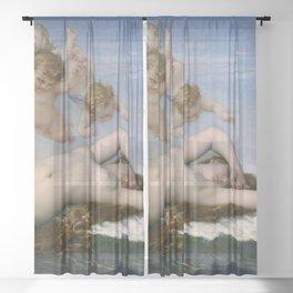THE BIRTH OF VENUS - ALEXANDRE CABANEL Sheer Curtain