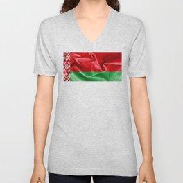Belarus Flag Unisex V-Neck