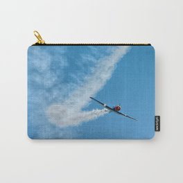 Air show with old military aircraft Carry-All Pouch