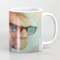 christian Mugs featuring Christian Gerhartsreiter by robotrake