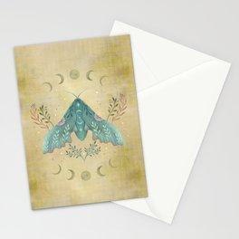 Luna and Moth - Oriental Vintage Stationery Cards