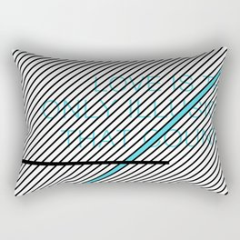 Love Is The Only Illusion Rectangular Pillow