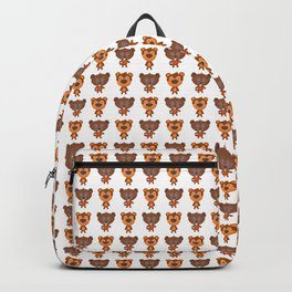 Cartoon animal cute pattern Backpack