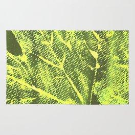 Eco botanical art print Rug