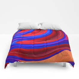 Beautiful Abstract Art by Raphael Terra Comforters