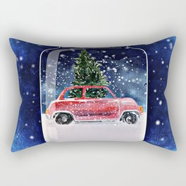 Christmas in a Bottle Rectangular Pillow
