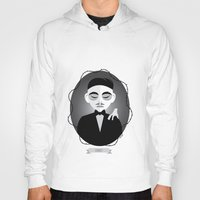 selena gomez Hoodies featuring Gomez Addams by Love Ashley Designs