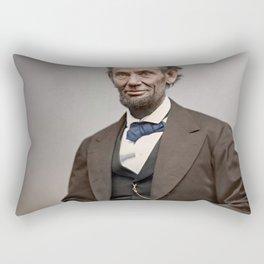 Abraham Lincoln Painting Rectangular Pillow