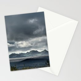 On a hike Stationery Cards