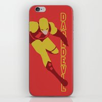 daredevil iPhone & iPod Skins featuring Daredevil by Young Jake