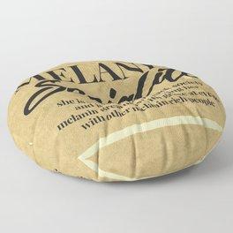 MELANIN SOCIALITE Floor Pillow
