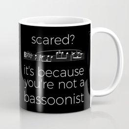 Fearless bassoonist (dark colors) Coffee Mug