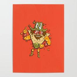 Nacho Man Poster