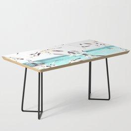 Seagulls Illustration Coffee Table
