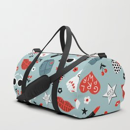 Rockabilly woman Duffle Bag