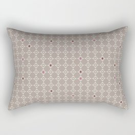Pattern of diamonds with soft colors Rectangular Pillow