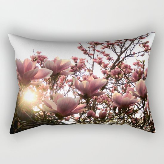 Magnolia Sunset Rectangular Pillow