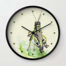locust Wall Clock