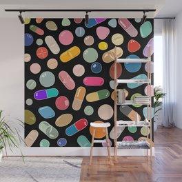 Unicorn Vitamins Wall Mural