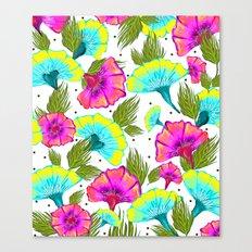 Ecstatic Floral #society6 #decor #buyart Canvas Print
