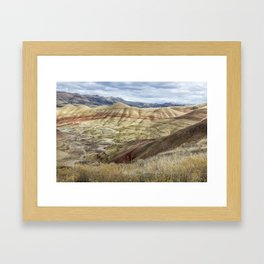 The HIlls are Alive with Color Framed Art Print