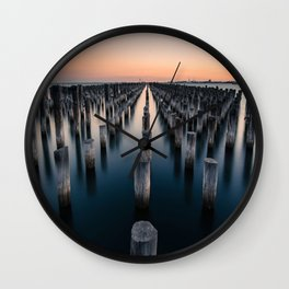 water pylons Wall Clock