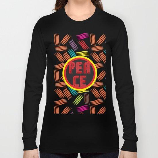 Pattern Vivid Long Sleeve T-shirt